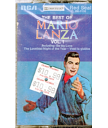 Maio Lanza Audio Cassette - The Best of Mario Lanza - $5.70