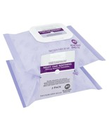80 Count, 2 Pack Equate Beauty Night-Time Soothing Makeup Remover Wipes.. - $19.79