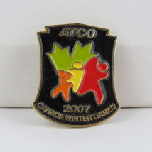 Juex Canada Winter Games Pin - 2007 Whitehorse Yukon - Atco Sponsor Pin - $15.00