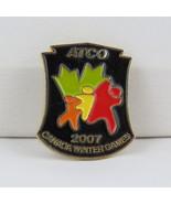 Juex Canada Winter Games Pin - 2007 Whitehorse Yukon - Atco Sponsor Pin - $15.00