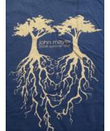 John Mayer Cool 2008 Summer Concert Tour T-Shirt Sz Large  Great Front &... - $15.98