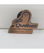Juex Canada Winter Games Pin - 2007 Whitehorse Yukon - Team Quebec - $15.00