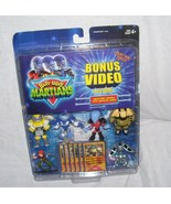 BUTT UGLY MARTIANS Collectible Figures w/Character Cards & BONUS VIDEO NEW! - $14.96