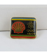 1988 Olympic Winter Games  Pin - Shell (Gas) Sponsor Pin - Hard to Find - $19.00