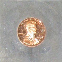 1996 S Certified Proof 70 Deep Mirror Proof Cameo Lincoln Memorial Penny - $59.00