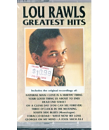 Lou Rawls Greatest Hits - Music Cassettes - $4.95