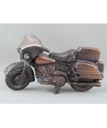 Vintage Harley Davidson Pencil Sharpener - Bronze - Made in Hong Kong - $59.00