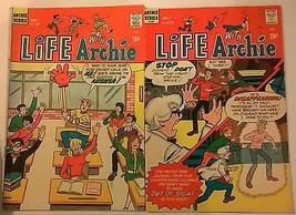 LIFE WITH ARCHIE lot of (2) issues #91 & #123 (1969-1972) Archie Comics VG+ - $9.89