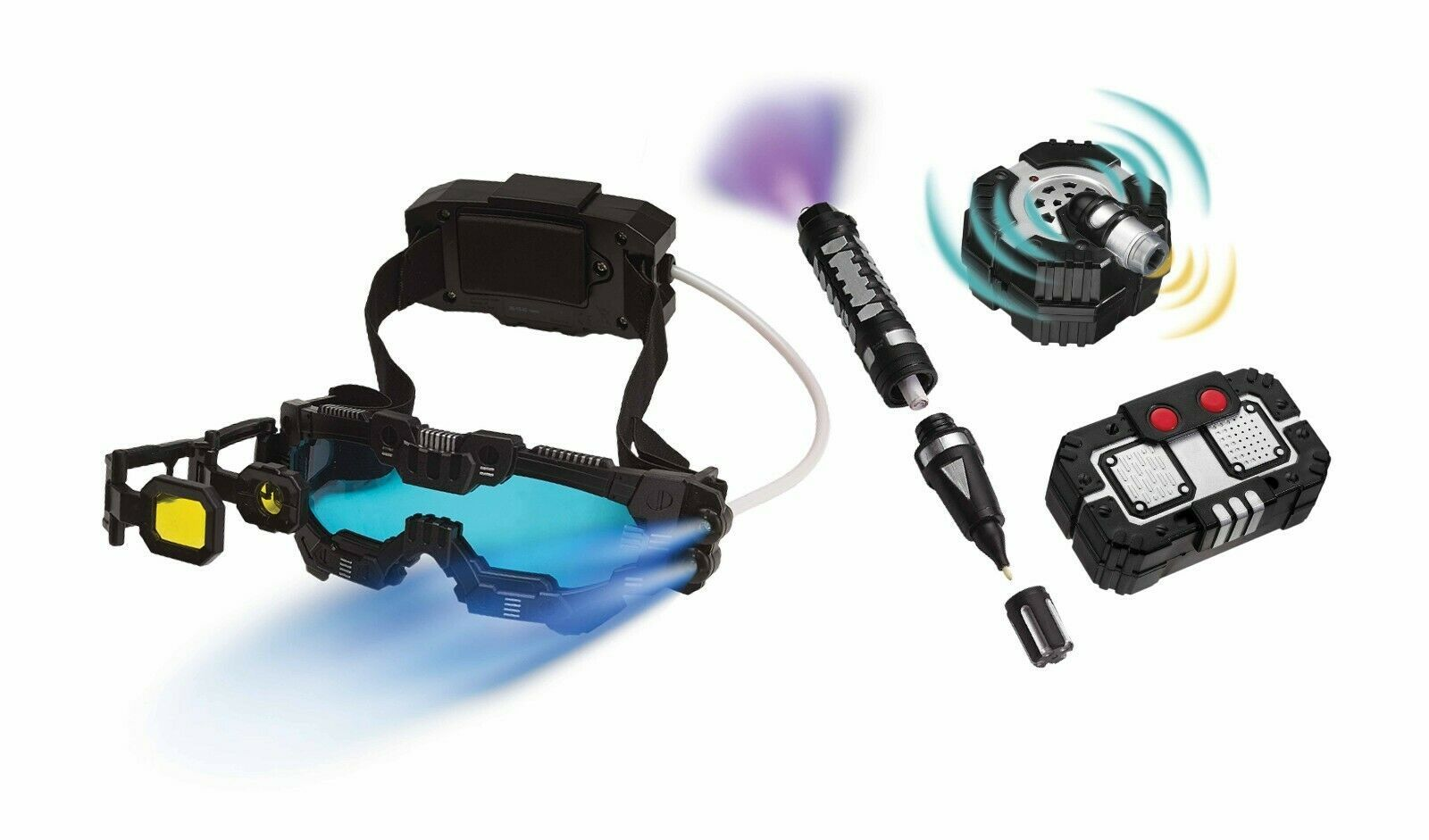 Spy X Night Ranger Set/Mission Goggles/Motion Alarm/Voice Disguise/Invisible Ink