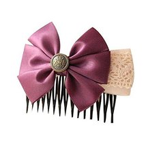 Lady Hair Decorations Beautiful Hair Clips For Fashion Girl Set of 2 Hair Combs