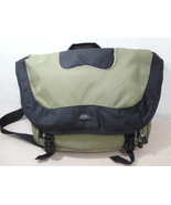 Samsonite Sage Green & Black 15 inch Laptop Messenger Bag Organizer Case - $43.95