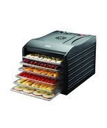 Aroma Professional 6 Tray Food Dehydrator, Black [Kitchen] - ₨8,531.94 INR