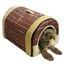 NACOCO Delicate Cotton Detachable Arc House Shape Pet Dog House (Classic... - $80.00