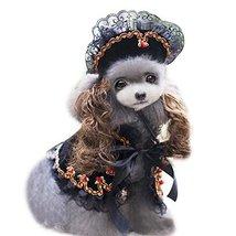 NACOCO Pet Cloak Dog Princess Suit Pet Dog Clothes Including a Hat and a... - $14.99