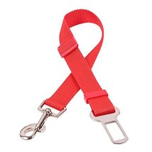 NACOCO Fashion Pet Dog Adjustable Car Automotive Seat Safety Belt (red) ... - $8.99