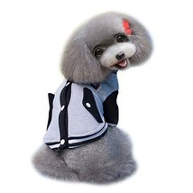 The New 2015 Pet Clothing Dog Clothes Baseball Uniform Pet Clothes Sprin... - $10.99
