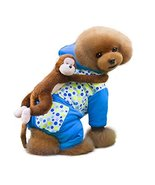 NACOCO Innovative Cotton Dog Costume with a Cute Monkey on Back (XXX-Lar... - $26.99