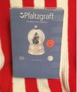 Pfaltzgraff WINTER FROST SNOW GLOBE 2nd in Series NEW - $50.00