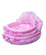 NACOCO Cute Princess Cradle Pet Bed with Removable Pet Mat (pink) [Misc.] - $66.99