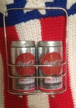 Coca Cola Salt & Pepper Shakers – Retro Look - $12.49