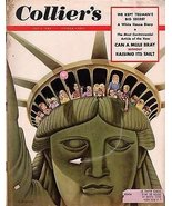 1953 Colliers July 4 - Joan Crawford; Mickey Mantle; How Jefferson spent... - $24.75