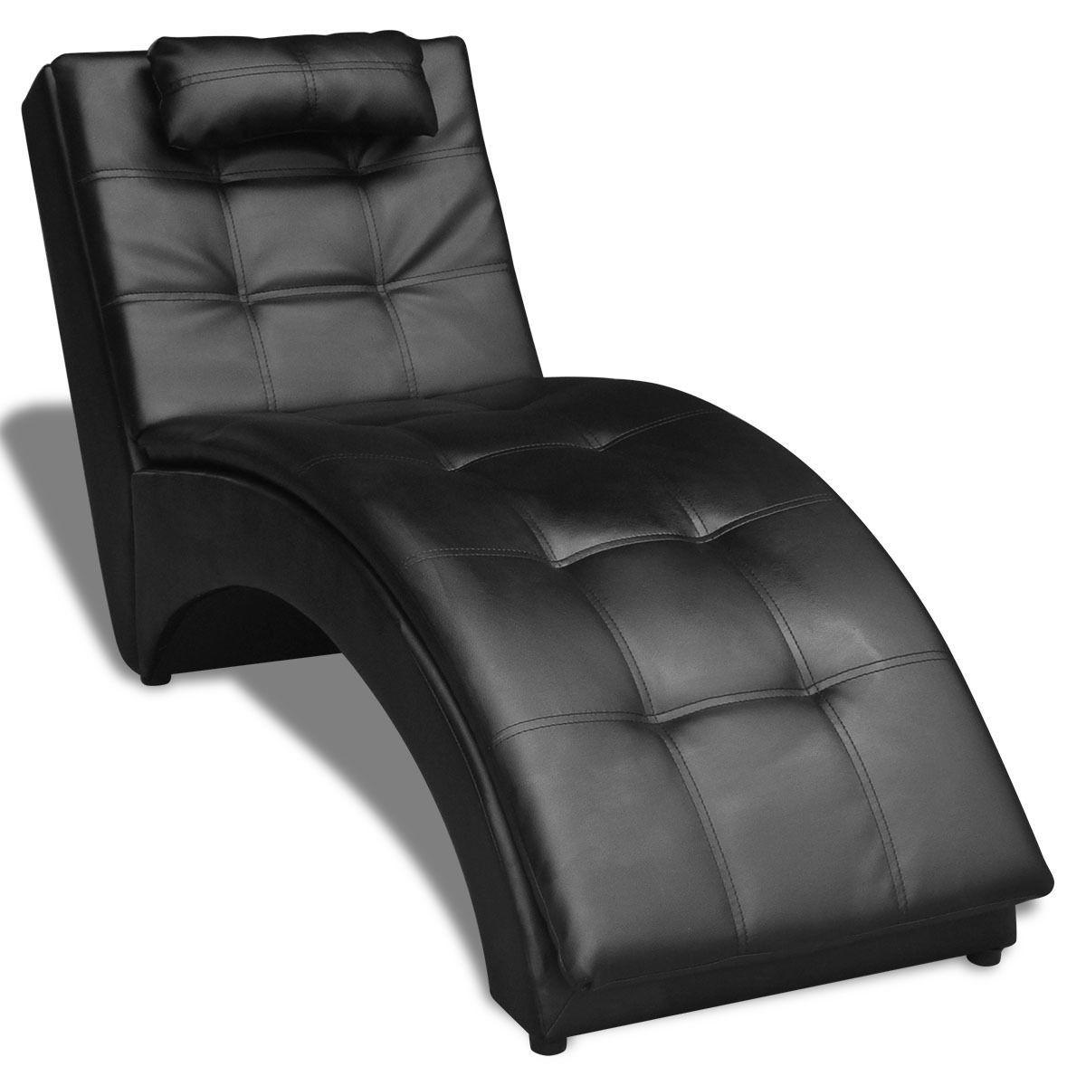 Cloud Mountain Leisure Chaise Lounge Sofa Chair Living Room Furniture