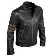 Custom Handmade X-Men Volverine leather jacket, Xmen movie black real leather ja - $149.99