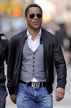 Custom Handmade CUBA GOODING JR BLACK LEATHER JACKET, MEN CUSTOM FASHION... - $149.99