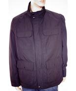 Tommy Hilfiger Men's Black Four Pocket Field Coat Jacket Quilted Bib Size L - $79.99