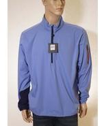 RLX Ralph Lauren Golf Men's Blue Waterproof 1/2 Zip Windbreaker Jacket C... - $87.99