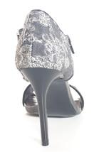 Shoes 5 Carlos 9 Entitled M Womens Heels Santana Pumps Grey Leather O7OZ0wqP