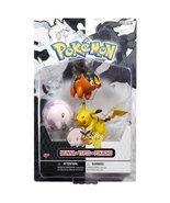 Pokemon Figure Multipack B&W Series #1 Fire Type Starter - Wave 1 C - Pi... - $39.59
