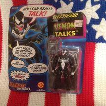 NIB FULLY FUNCTIONAL Marvel Electronic VENOM Talks by ToyBiz - $15.99