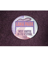 2008 Luna Park West Seattle Hi-Yu Festival Pinback Button, Pin, from Was... - $7.96