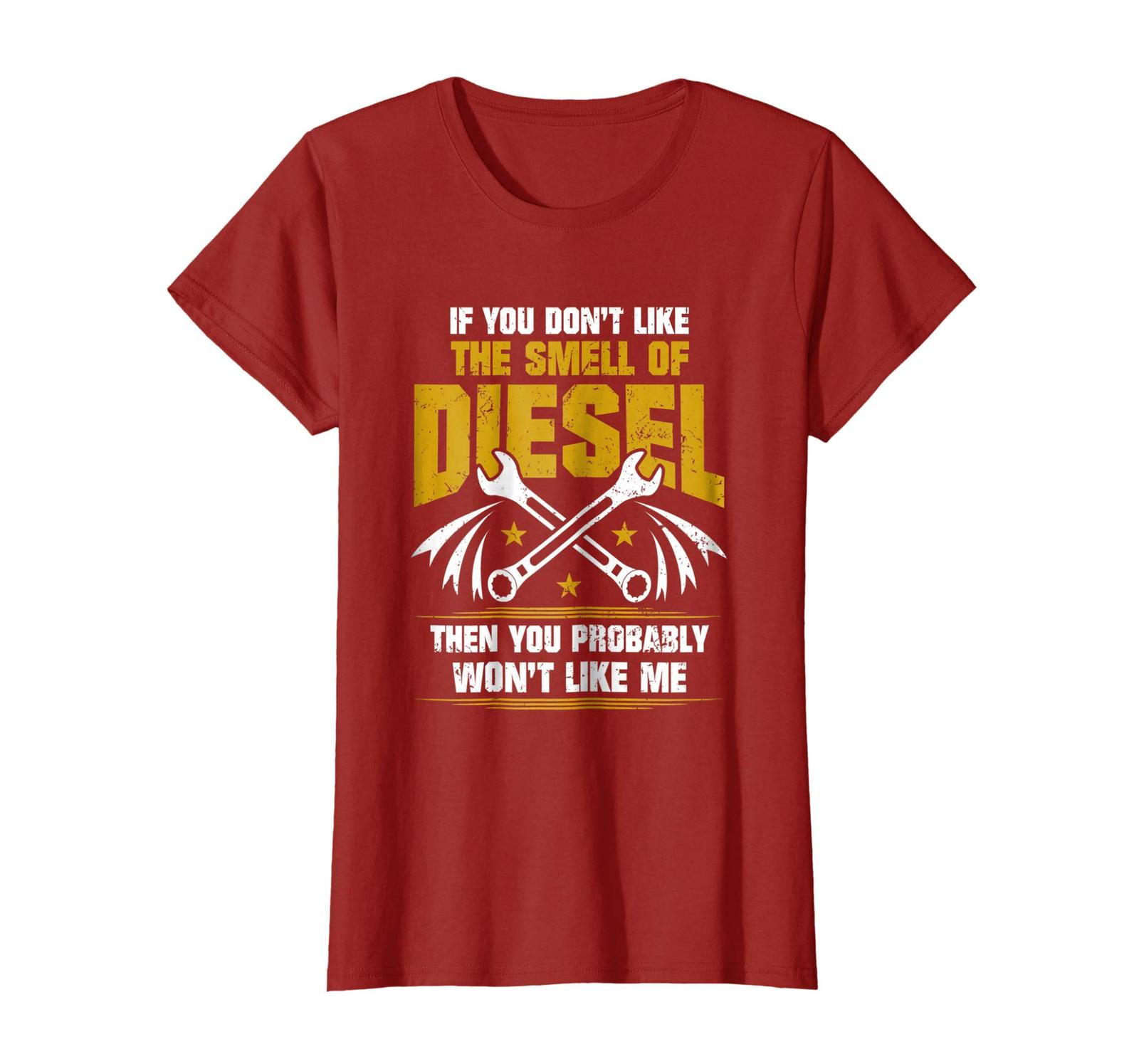 Brother Shirts - Diesel Mechanic Shirt - Don't Like The Smell Of Diesel Wowen