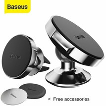 Baseus Magnetic Car Holder For Phone Universal Holder Cell Mobile Phone ... - £7.10 GBP+