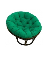 Papasan Bowl Cushion 44 Twill Great Room Family Furniture Gaming Bright ... - $95.88
