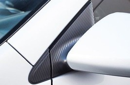 Scion tC Side Mirror Carbon Fiber Trim Vinyl Insert Stickers Accessory 2... - $14.95