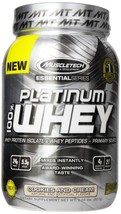 MuscleTech Essential Platinum 100% Whey, 2 lb Cookies & Cream - $119.00