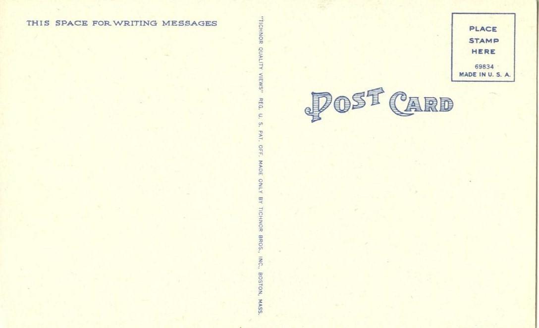 Colonial Coach and Four, Williamsburg, VA, unused linen Postcard