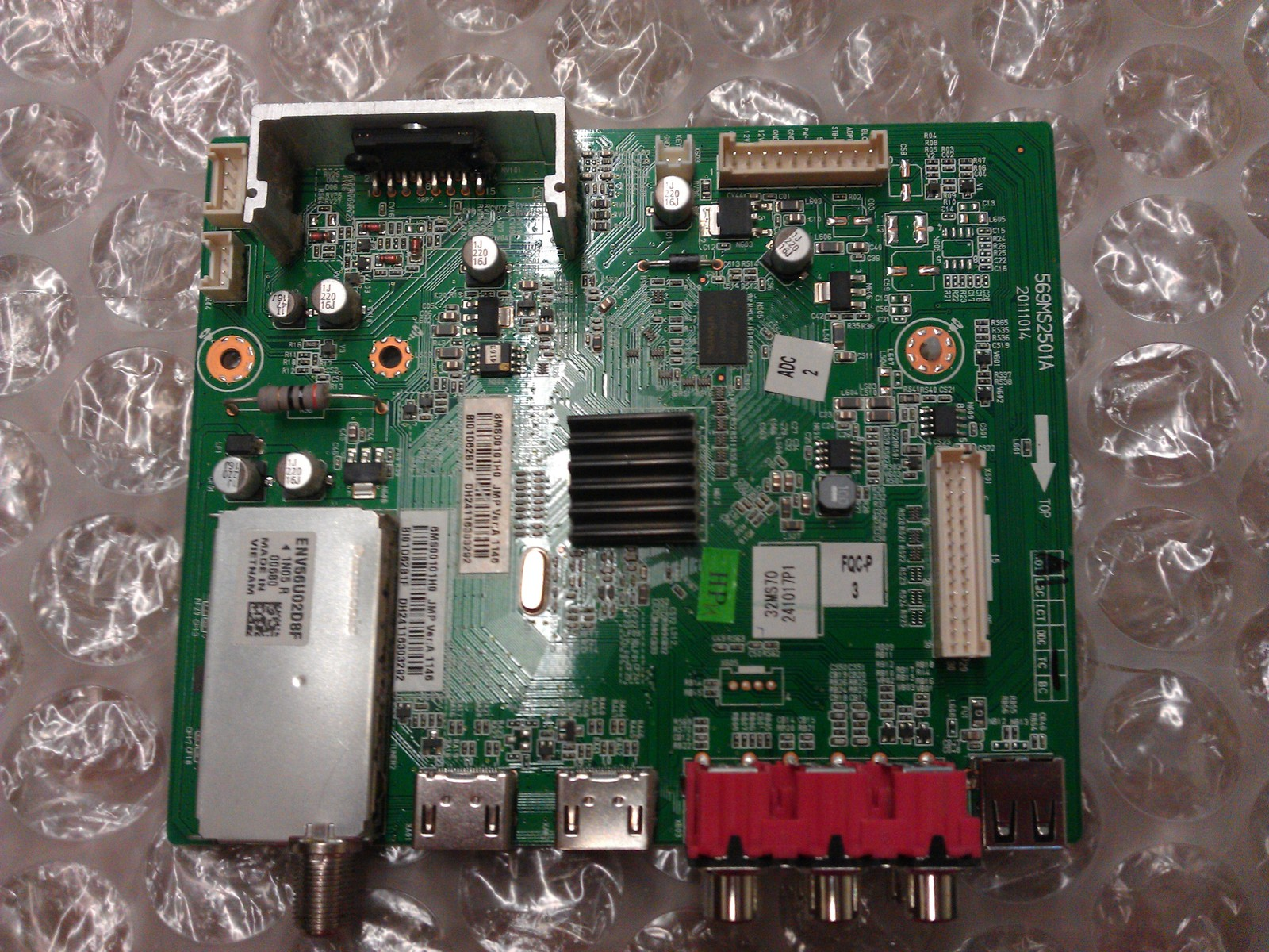 6MS00101H0 Main Board From Dynex DX-32L200A12 LCD TV
