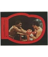 1979 Topps Rocky II Sticker #2 Rocky Balboa vs Apollo Creed > Sylvester ... - $1.45