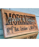 Layered Names Custom Personalized Wood Sign Hom... - $99.99