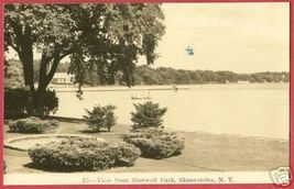 SKANEATELES NEW YORK NY Shotwell Park Lake RPPC - $10.00