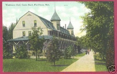 Primary image for PORT HURON MI Windemere Hotel Gratiot Beach