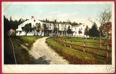 Primary image for MACKINAC ISLAND MICHIGAN Old Mission House MI UDB 1908