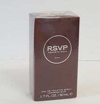 R.S.V.P By Kenneth Cole Eau De Toilette For Men-1.7oz / 50mm NIB  SKU-1070 - $51.48