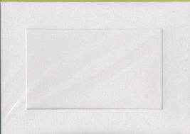 Granite Rectangular Large Needlework Cards 5x7 cross stitch - $5.00