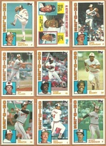 1984 Topps Baltimore Orioles Team Lot Eddie Murray Jim Palmer Al Bumbry Flanagan - $4.50