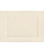 Parchment Rectangular Large Needlework Cards 5x7 cross stitch - $5.00